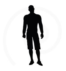 man silhouette