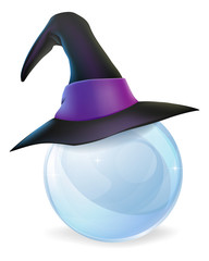 Crystal Ball and Witches Hat