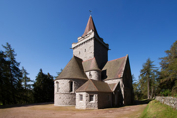 Crathie Church, Aberdeenshire, Scotland
