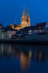 Regensburg at sundown