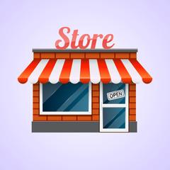 Shop icon. Store