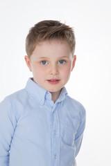 closeup of cute male kid