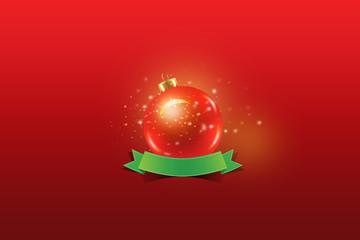 Weihnachten Baum und Baumschmuck