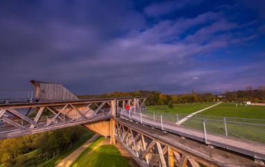 Aussichtbauwerk im Freizeitpark Koblenz