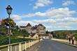 Ponte sulla Dordogna a Meyronne - Lot, Midi Pirenei