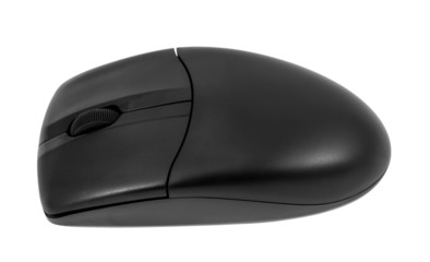 Electronic collection - Wireless optical black computer mouse