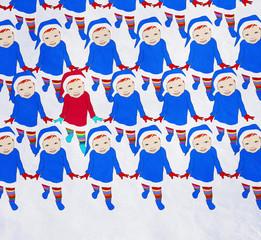 Dancing Santa Claus, Merry Christmas