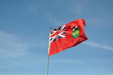 Province of Ontario flag