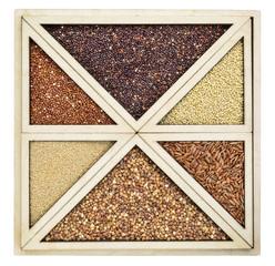 variety of gluten free grains