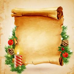 parchment christmas