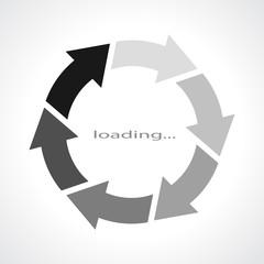 Loading rotation icon