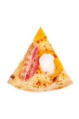 Italian pizza with ham