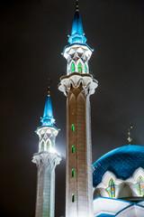 KAZAN, RUSSIA, minaret  Kul sharif in kremlin