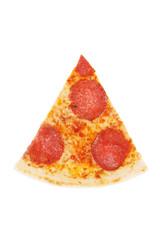 Italian pizza with ham,