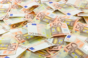 Background of banknotes