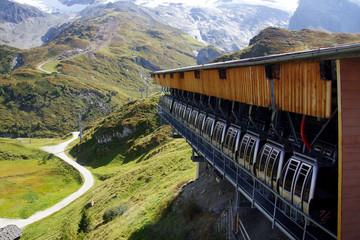 Zillertaler Gletscherbahn im Tal