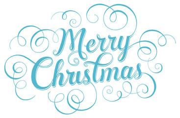 Merry Christmas. Lettering