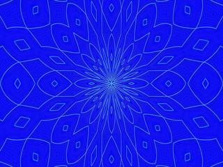 Texture, forme kaleidoscope, effet dessin