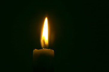 Mourn candle.