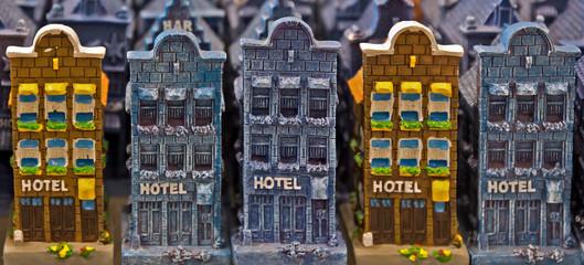Amsterdam - Souvenir houses