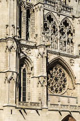 Burgos cathedral detail