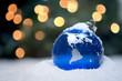 Leinwanddruck Bild - Christmas Ornament