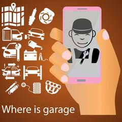 mechanic on mobile