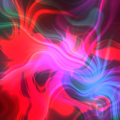Red And Blue Plasma Background