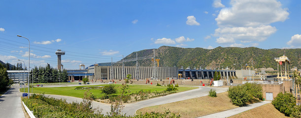 Iron Gate (Djerdap) Hydroelectric Power Station, Danube river