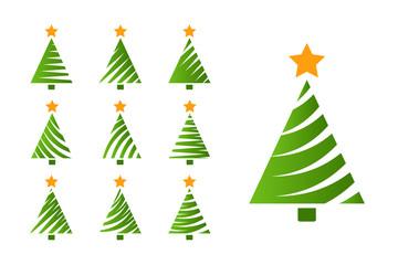 Christmas tree simple set