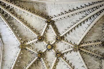 Burgos Gothic cathedral interior