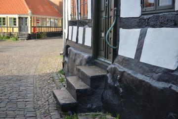 Altstadt Ebeltoft - Eingangstreppe