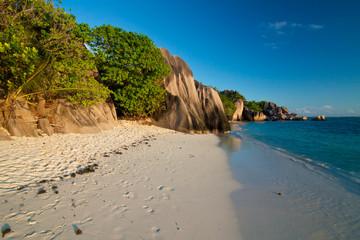 Seychelles - La Digue - Anse Source d'Argent beach