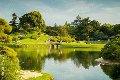 Papiers peints Japon Okayama Garden