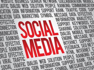 Social media,social network concept, vector background