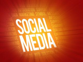 Social media,social network concept, background