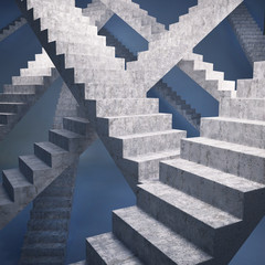 Many ways to step