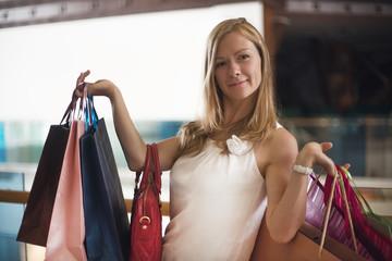 Fashion Shopping Girl Portrait