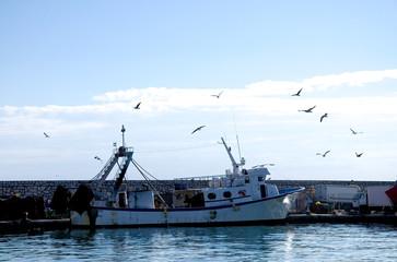 Fischerhafen in Andalusien - Spanien
