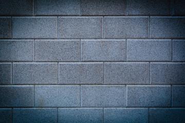 Neue Steinmauer mit Vignettierung