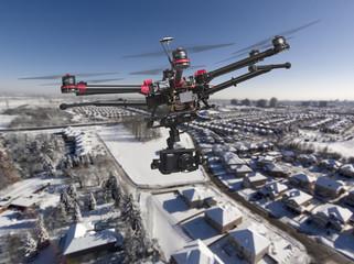 Aerial Winter Patrol