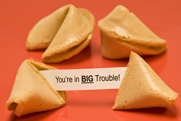 Big Trouble Fortune Cookie