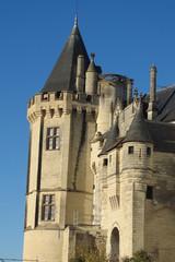 Maine-et-Loire - Saumur - Entrée du Château
