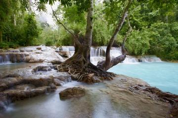 Kuang Si waterfall c