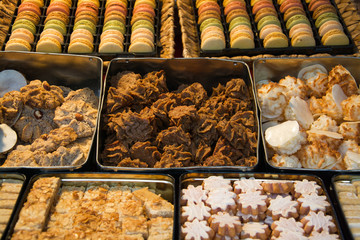 Kekse auf dem Markt
