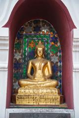Bronze buddha in Chiangmai