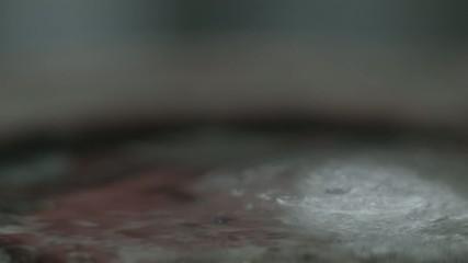 氷の微速度撮影
