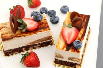 brownie tiramisu cake