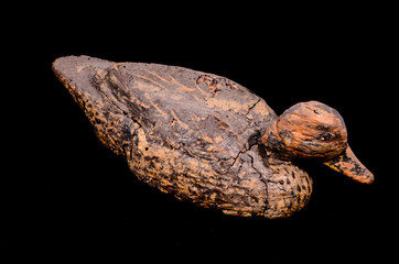Vintage Goose Duck Decoy Cork Recall