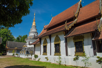 Temple in Chiang mai, Thailand public place